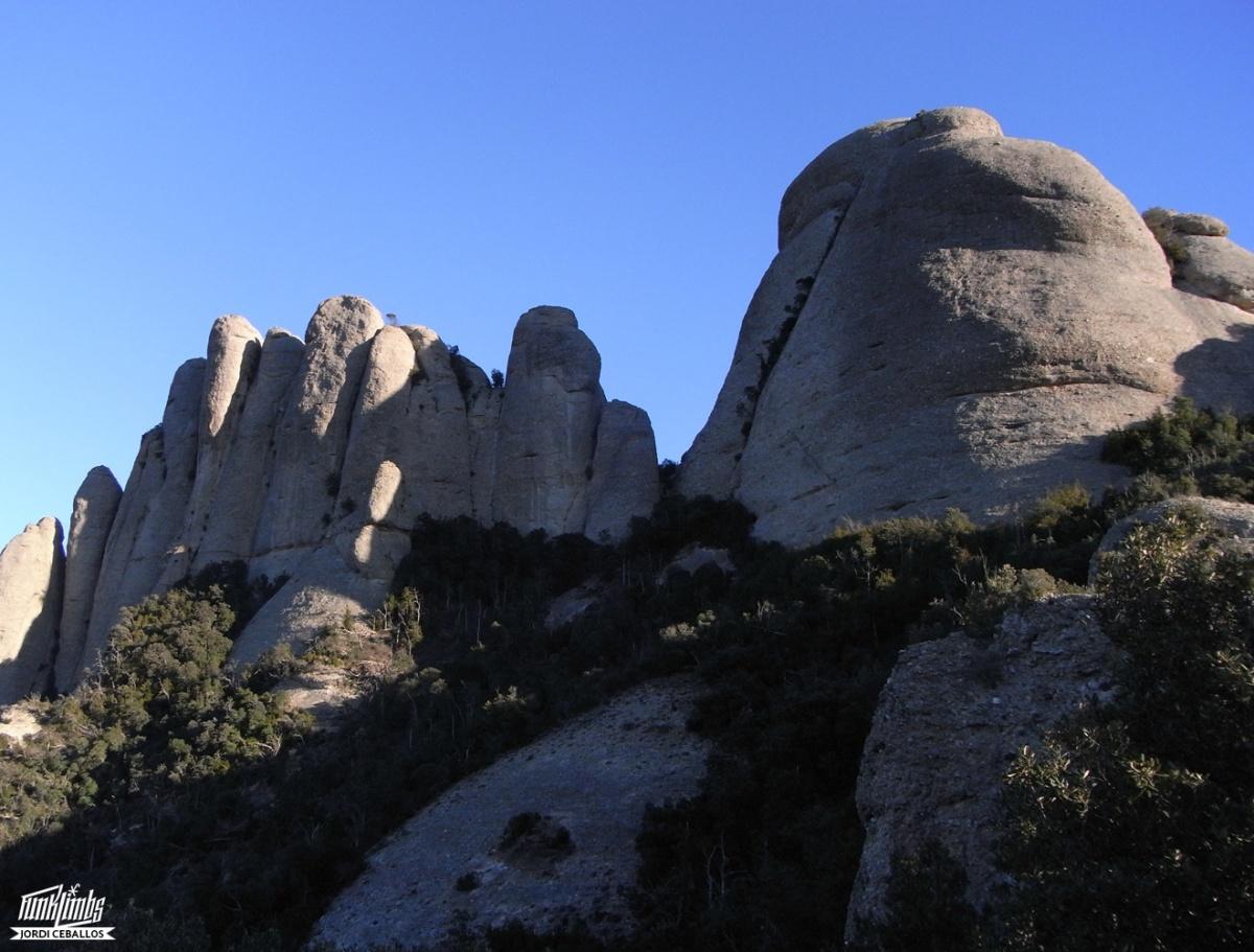 The Wall a l'Agulla de SantSalvador