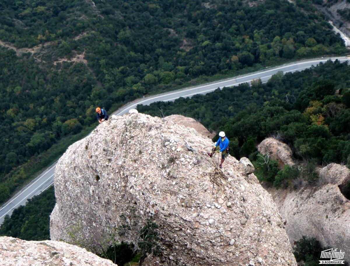 Esperó Fredi-Picazo a la Roca delsAurons