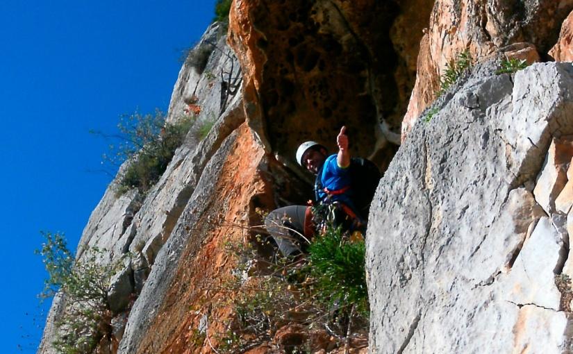 Diedre Almendariz al Pic delMartell