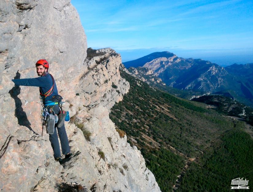 Fanal Nocturn, Àger, escalada, ressenyes, Cap del Ras, Lleida