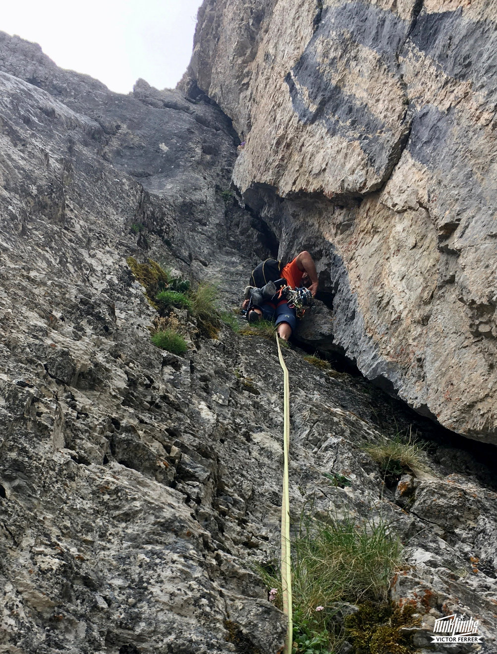 cadí, nord, Joan Cerdà, Heinz Pokorsky, cerdanya, estana, prat cadí, escalada, via llarga, ressenya, rock climbing, catalunya, climb, climbing, arrampicata, pirineus